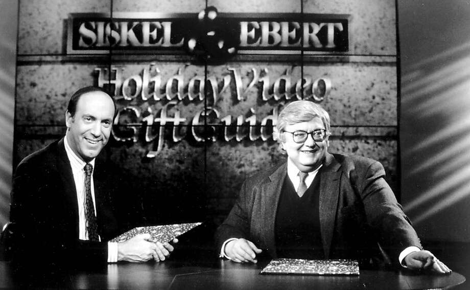 Roger Ebert (right) and Gene Siskel were both top newspaper film critics,  but gained even more fame from their longtime television show. Photo: Globe Photos, McClatchy-Tribune News Service