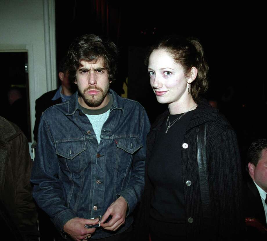 Judy Greer, aka Kitty Sanchez, pictured in 2002 with Adam Goldberg. Photo: Michael Simon, Getty Images / WireImage