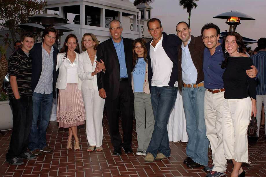"A decade after it premiered, ""Arrested Development"" returns May 26 on Netflix. Take a look back to see the cast then, and now. Above, the cast and crew of ""Arrested Development"" are pictured in 2003. Photo: Amanda Edwards, Getty Images / 2004 Getty Images"