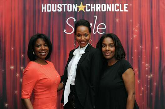 April Jones, Gena Avery and Tanya Robertson (left to right) pose at the Houston Chronicle\'s 31st annual Best Dressed luncheon, at the Westin Galleria Hotel, Houston, Texas on the 3rd April 2013. Photo: Spike Johnson, For The Chronicle / Spike Johnson