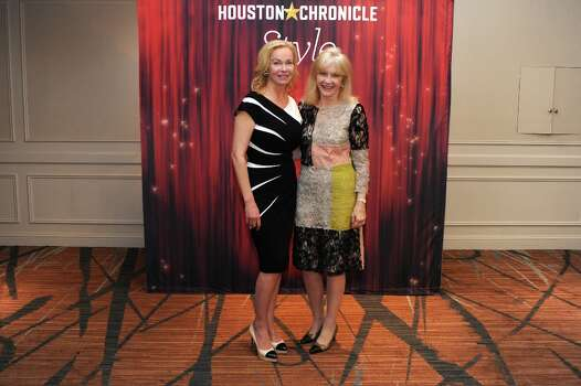 Alice Mosing and Astrid Van Dyke (left to right) pose at the Houston Chronicle\'s 31st annual Best Dressed luncheon, at the Westin Galleria Hotel, Houston, Texas on the 3rd April 2013. Photo: Spike Johnson, For The Chronicle / Spike Johnson
