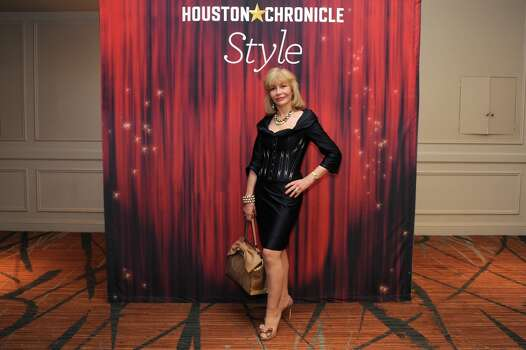 Susan Boggio  poses at the Houston Chronicle\'s 31st annual Best Dressed luncheon, at the Westin Galleria Hotel, Houston, Texas on the 3rd April 2013. Photo: Spike Johnson, For The Chronicle / Spike Johnson
