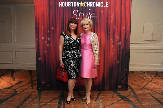 Barbara Van Postman and Kathi Rovere (left to right) pose at the Houston Chronicle\'s 31st annual Best Dressed luncheon, at the Westin Galleria Hotel, Houston, Texas on the 3rd April 2013. Photo: Spike Johnson, For The Chronicle / Spike Johnson