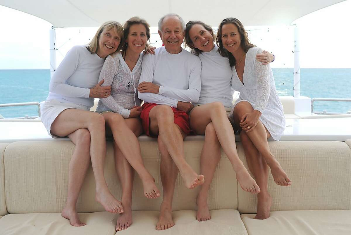 The Wojcicki family: From left to right (in photo): Esther, Susan, Stan, Janet and Anne Wojcicki.