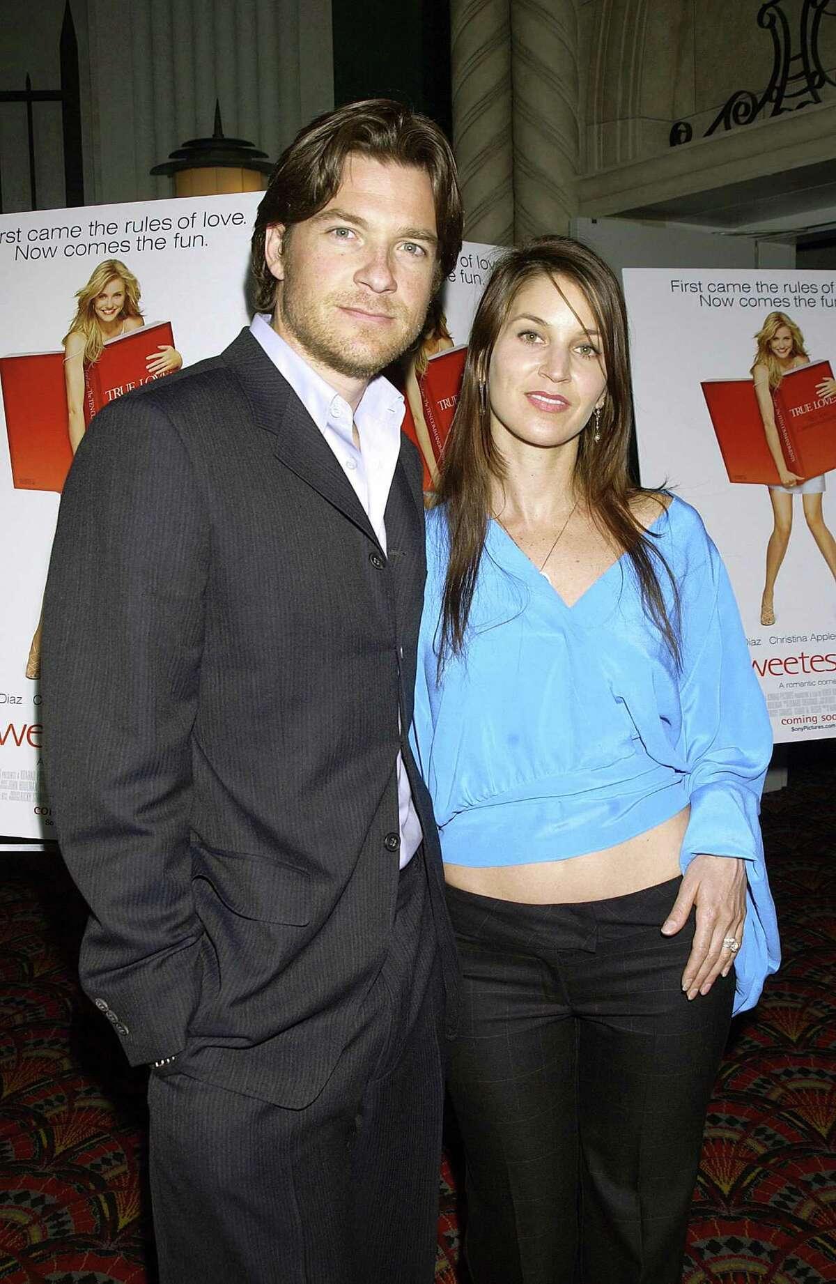Jason Bateman, aka Michael Bluth, pictured in 2002 with wife Amanda Anka.
