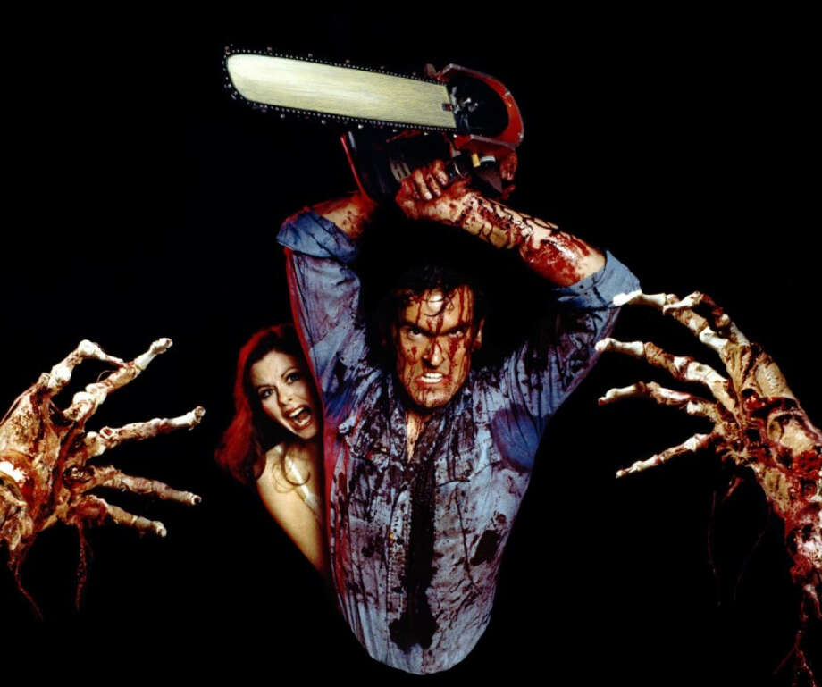 """Thursday:Sam Raimi's """"The Evil Dead,"""" starring Bruce Campbell, is the first movie screened as part of the Avon Theatre's Cult Classics series in Stamford. Photo: Contributed Photo"""