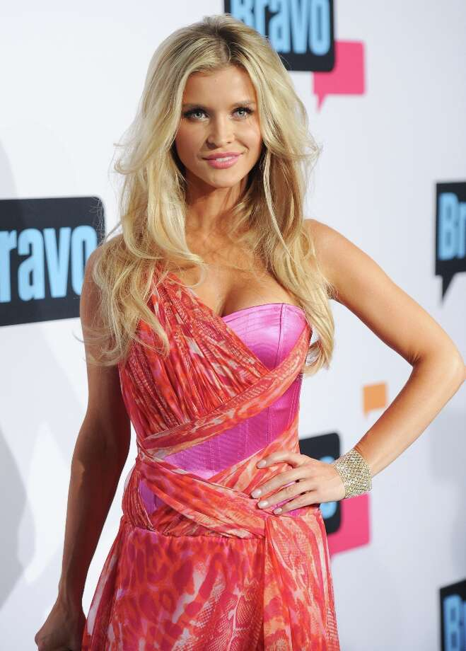 "Joanna Krupa from ""The Real Housewives of Miami\"" attends the Bravo Network 2013 Upfront on Wednesday April 3, 2013 in New York. (Photo by Evan Agostini/Invision/AP) Photo: Evan Agostini, Associated Press / Invision"