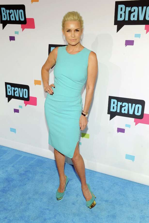 Yolanda Foster attends the 2013 Bravo New York Upfront at Pillars 37 Studios on April 3, 2013 in New York City. Photo: Craig Barritt, Getty Images / 2013 Getty Images
