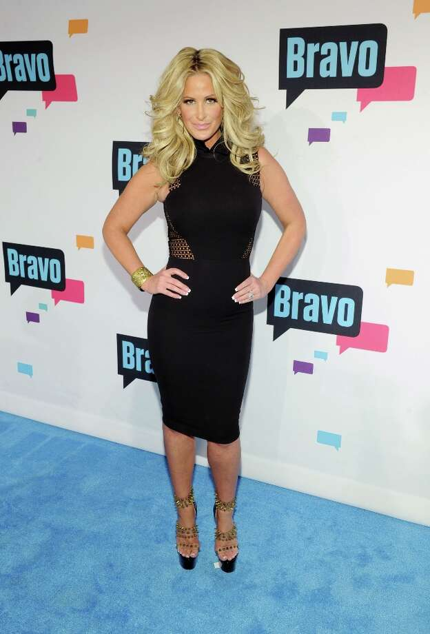 Kim Zolciak attends the 2013 Bravo New York Upfront at Pillars 37 Studios on April 3, 2013 in New York City. Photo: Craig Barritt, Getty Images / 2013 Getty Images