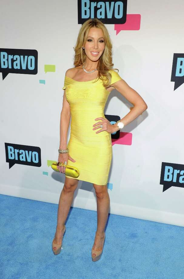 Lisa Hochstein attends the 2013 Bravo New York Upfront at Pillars 37 Studios on April 3, 2013 in New York City. Photo: Craig Barritt, Getty Images / 2013 Getty Images