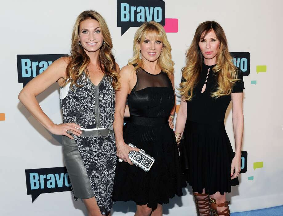 """The Real Housewives of New York City\"" cast members, from left,  Heather Thomson, Ramona Singer and Carole Radziwill attend the Bravo Network 2013 Upfront on Wednesday April 3, 2013 in New York. (Photo by Evan Agostini/Invision/AP) Photo: Evan Agostini, Associated Press / Invision"