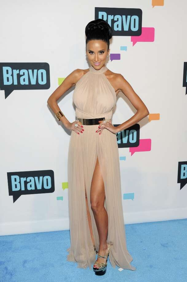 "Lilly Ghalichi from ""Shahs of Sunset\"" attends the Bravo Network 2013 Upfront on Wednesday April 3, 2013 in New York. (Photo by Evan Agostini/Invision/AP) Photo: Evan Agostini, Associated Press / Invision"