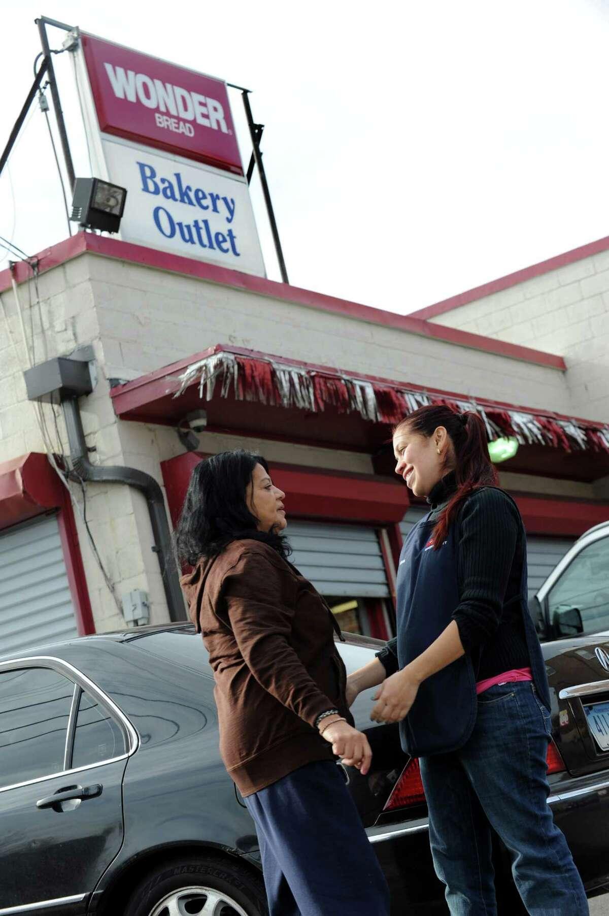 The Wonder Bread Bakery Outlet on Wells Street in Bridgeport, Conn. on Friday, Nov. 16, 2012.
