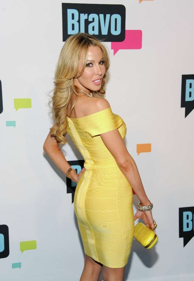 "Lisa Hochstein from ""The Real Housewives of Miami\"" attends the Bravo Network 2013 Upfront on Wednesday April 3, 2013 in New York. (Photo by Evan Agostini/Invision/AP) Photo: Evan Agostini, Associated Press / Invision"