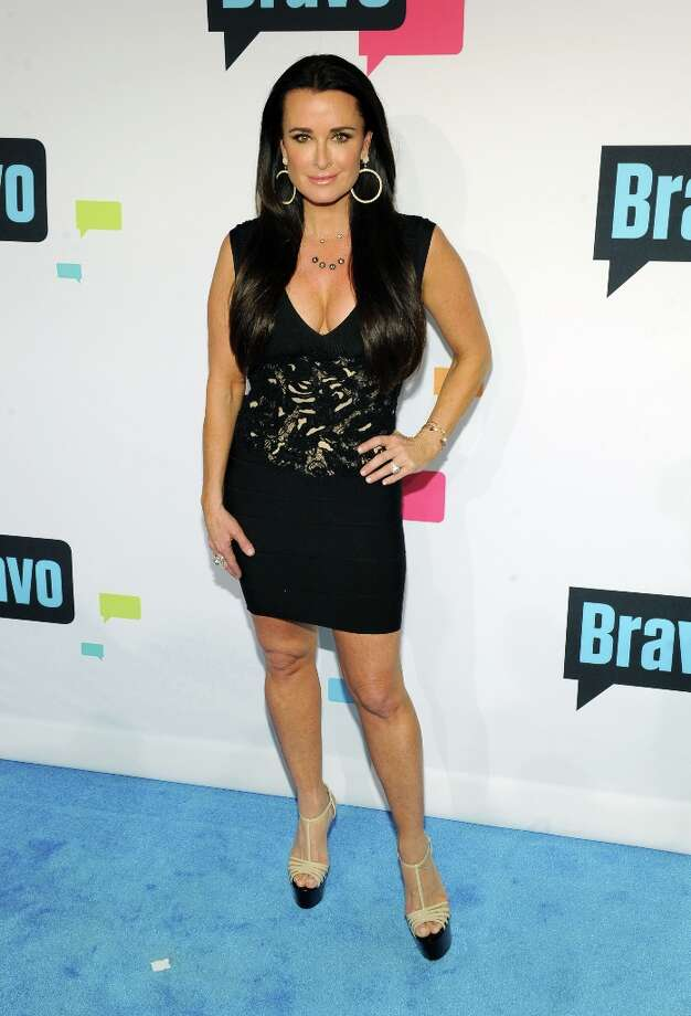 Kyle Richards attends the 2013 Bravo New York Upfront at Pillars 37 Studios on April 3, 2013 in New York City. Photo: Craig Barritt, Getty Images / 2013 Getty Images
