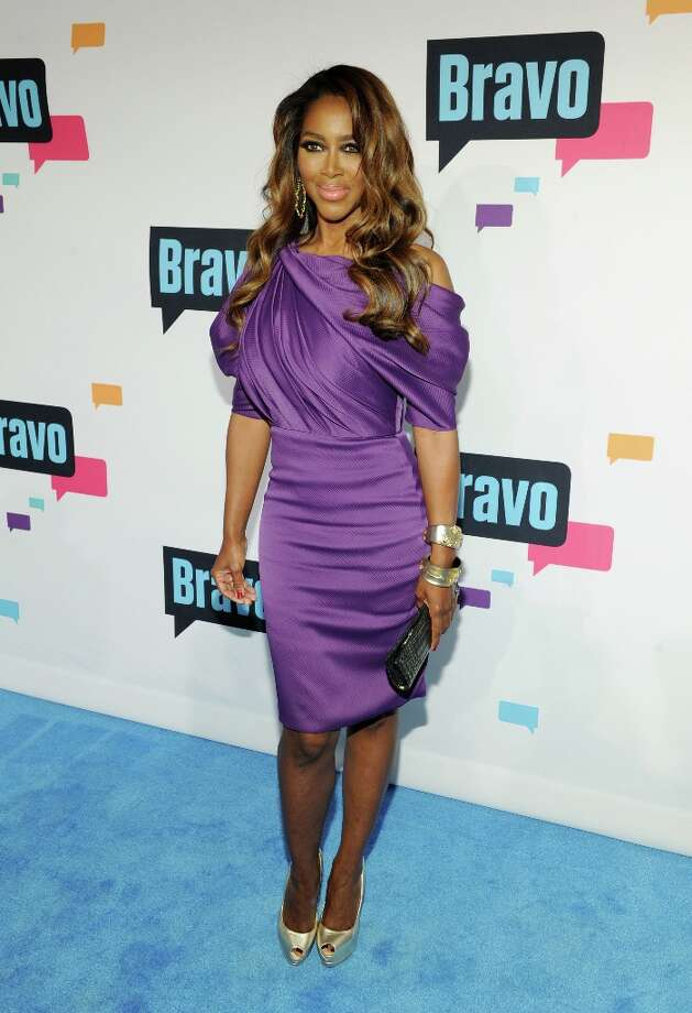 Kenya Moore attends the 2013 Bravo New York Upfront at Pillars 37 Studios on April 3, 2013 in New York City. Photo: Craig Barritt, Getty Images / 2013 Getty Images