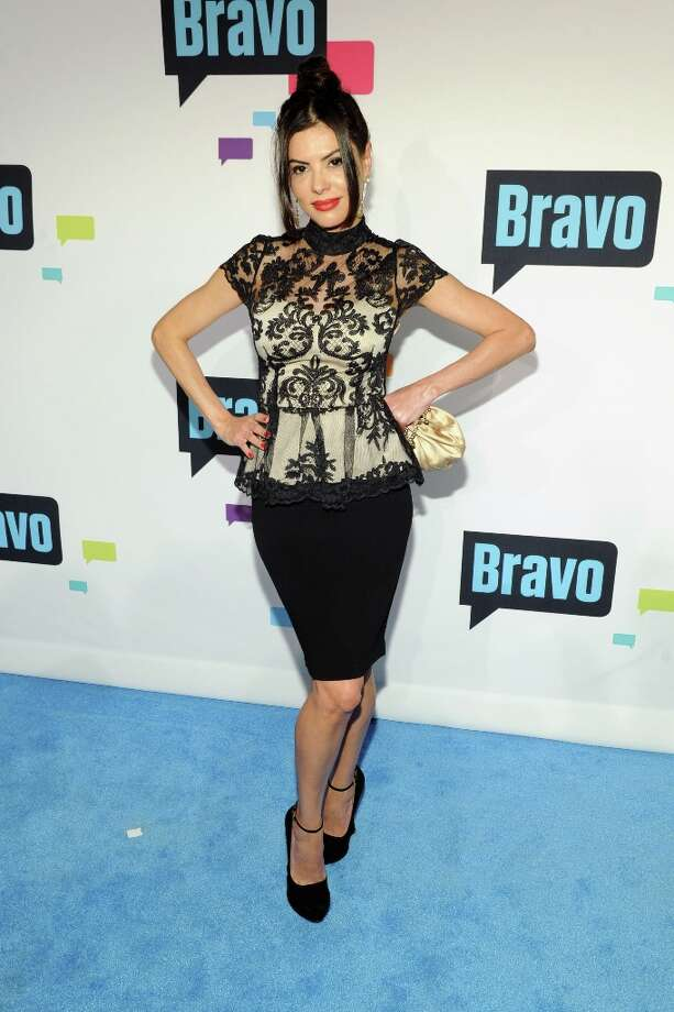 Adriana De Moura attends the 2013 Bravo New York Upfront at Pillars 37 Studios on April 3, 2013 in New York City. Photo: Craig Barritt, Getty Images / 2013 Getty Images