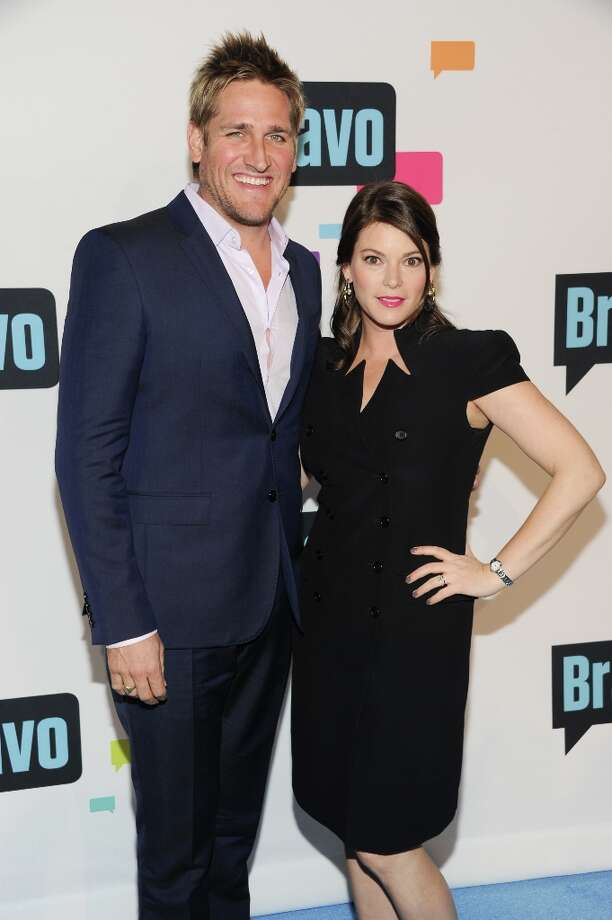 """Curtis Stone and Gail Simmons from \""""Top Chef\"""" and \""""Top Chef Masters\"""" attend the Bravo Network 2013 Upfront on Wednesday April 3, 2013 in New York. (Photo by Evan Agostini/Invision/AP) Photo: Evan Agostini, Associated Press / Invision"""