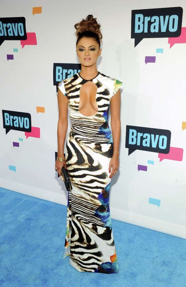 """Golnesa \""""GG\"""" Gharachedaghi attends the 2013 Bravo New York Upfront at Pillars 37 Studios on April 3, 2013 in New York City. Photo: Craig Barritt, Getty Images / 2013 Getty Images"""
