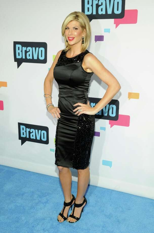 Alexis Bellino attends the 2013 Bravo New York Upfront at Pillars 37 Studios on April 3, 2013 in New York City. Photo: Craig Barritt, Getty Images / 2013 Getty Images