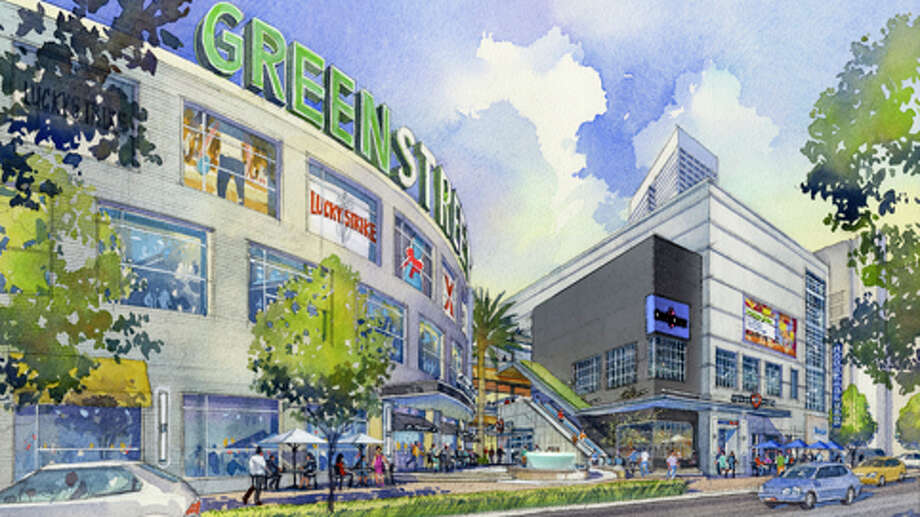 "GreenStreet used to be the Houston Pavilions, and it's being redeveloped into a ""destination"" and in negotiations with new tenants. The possibilities are getting us excited."