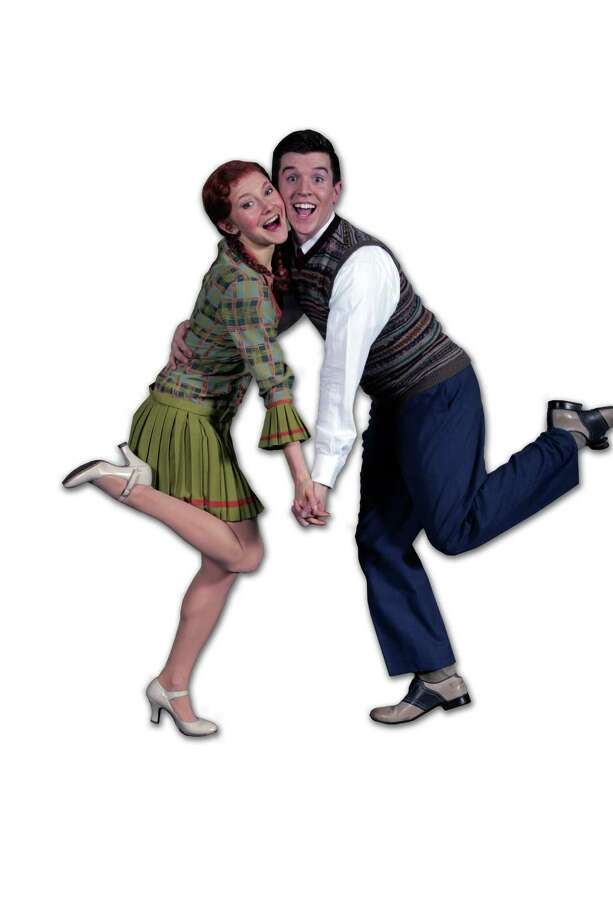 "Jessi Trauth and Andrew Roubal dance up a storm in the new production of the 1927 musical ""Good News"" that starts performances at East Haddam's Goodspeed Opera House on Friday, April 12. Photo: Contributed Photo"