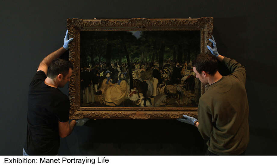 "The sold-out Manet exhibit at the Royal Academy of Art has been captured for a global HD event ""Manet: Portraying Life"" that will be screened at several Connecticut multiplexes on Thursday, April 11. Photo: Contributed Photo"