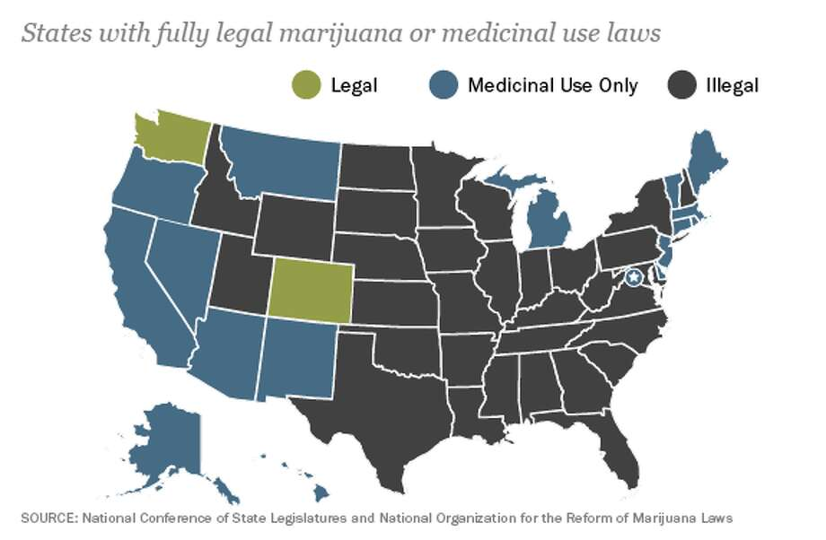 American states are a patchwork of various marijuana laws. Since California legalized medicinal use of marijuana in 1996, other states have followed suit while others have rejected such efforts. Washington and Colorado became the first states to fully legalize marijuana in 2012, despite federal laws that maintain marijuana use is illegal.