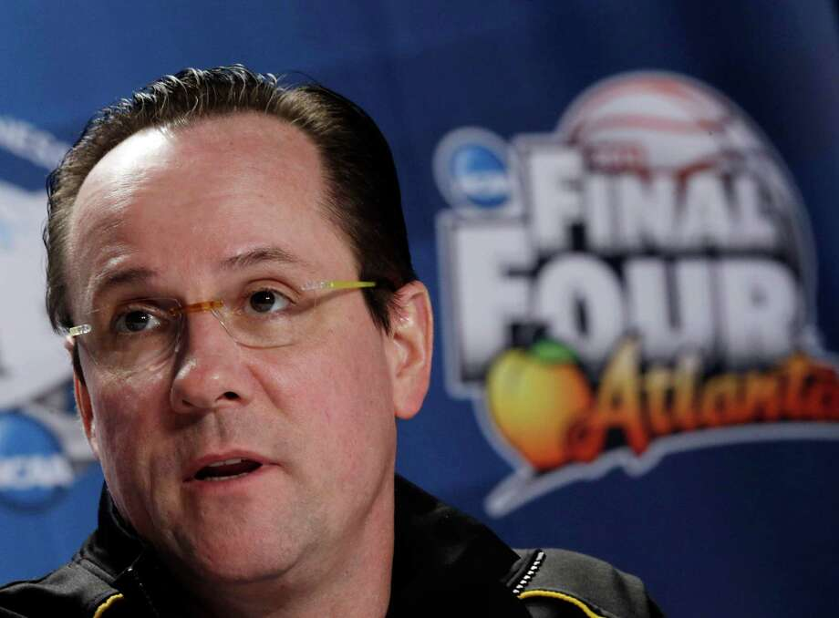 Wichita State head coach Gregg Marshall speaks to the media during a news conference at the Final Four of the NCAA college basketball tournament, Thursday, April 4, 2013, in Atlanta. Wichita State plays Louisville in a national semifinal on Saturday. (AP Photo/John Bazemore) Photo: John Bazemore