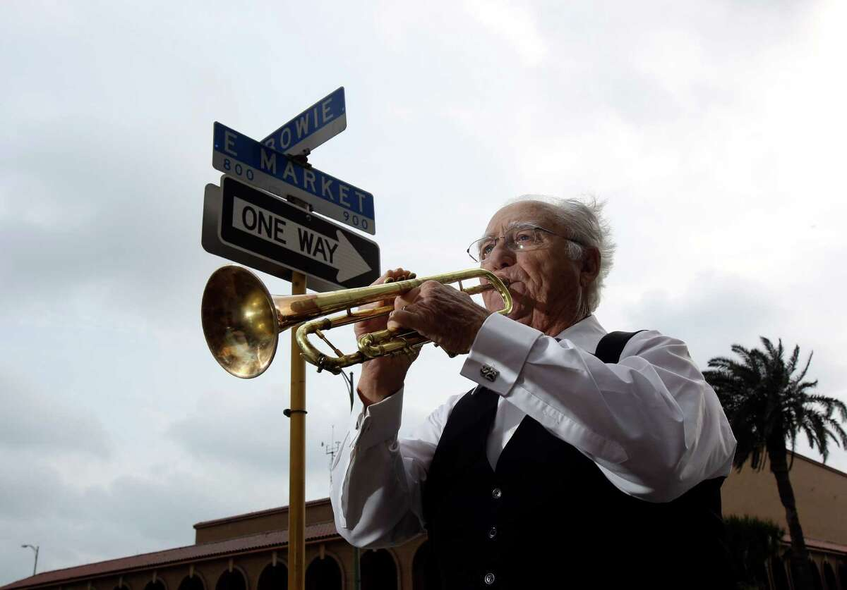 Al Sturchio, 84, is the former trumpet-playing bandleader of