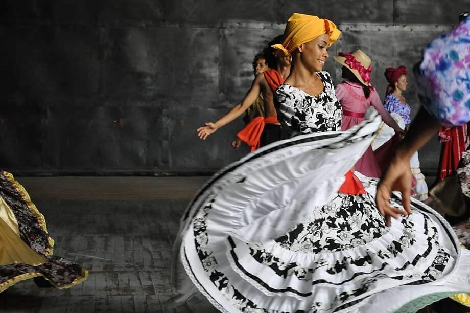 Teatro de la Danza del Caribe, which blends modern dance with Cuban folk styles, will make its U.S. debut at the festival. Photo: Jamaica Itule Simmons