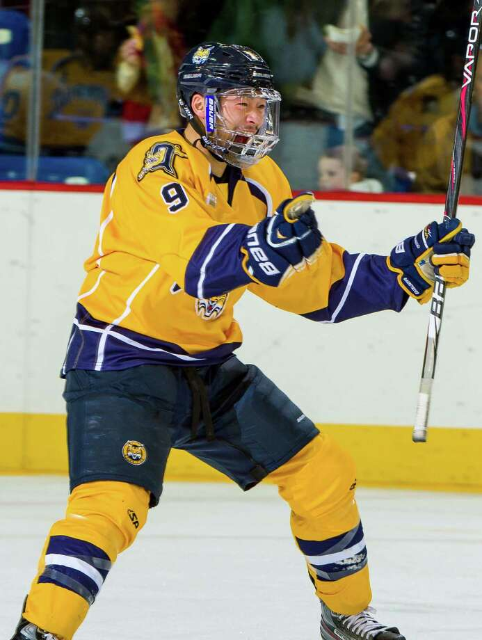 John Bui earned his way back onto the Quinnipiac Bobcats before helping elevate the team to the Frozen Four next week in Pittsburgh. Photo: Contributed Photo / Connecticut Post Contributed