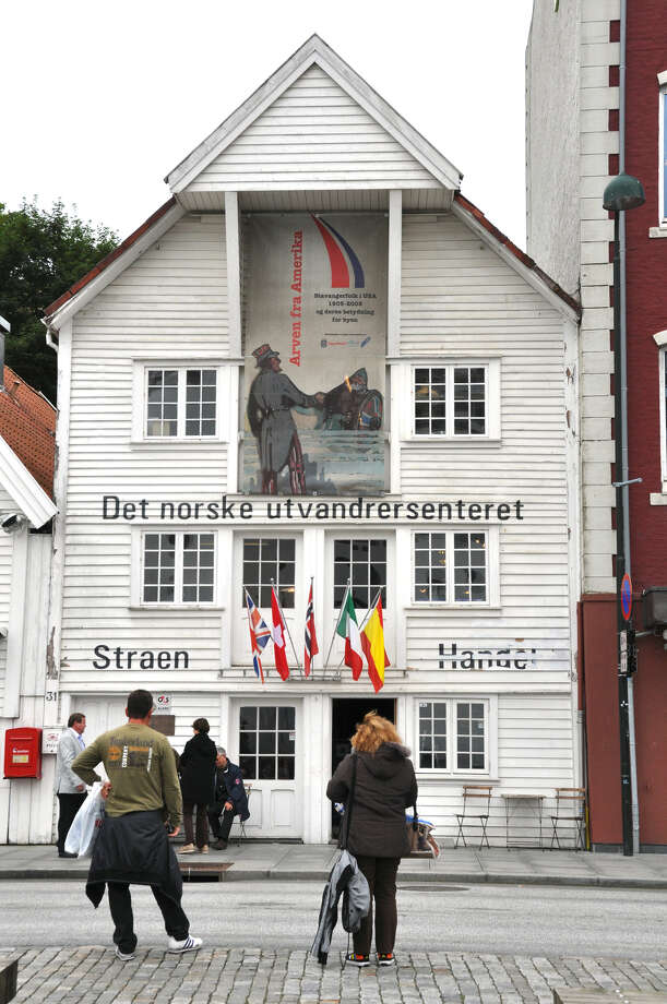 Stavanger's Norwegian Emigration Center is in an old warehouse near the wharf where passenger ships left for America. Photo: Cameron Hewitt, Ricksteves.com