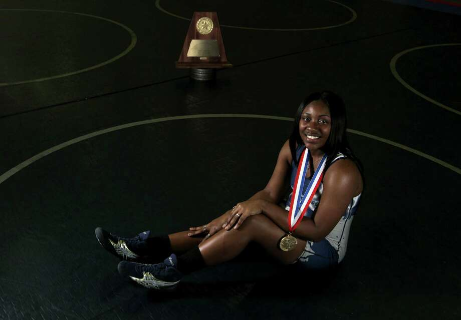 Girls wrestler of the yearShaterica Henderson, Cy Ridge (165-pound class) Photo: James Nielsen, Houston Chronicle / © 2013 Houston Chronicle