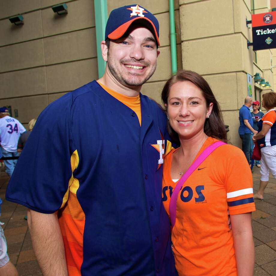 Astros opening day at Minute Maid Park
