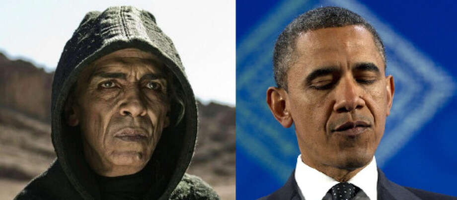 Bonus: Here are a few others that didn't quite make the list:  – 13 percent of voters think Barack Obama is the anti-Christ  Some thought the creators of the History Channel\'s Bible mini-series were subscribers after casting a Satan who resembled the president. (AP Photo)