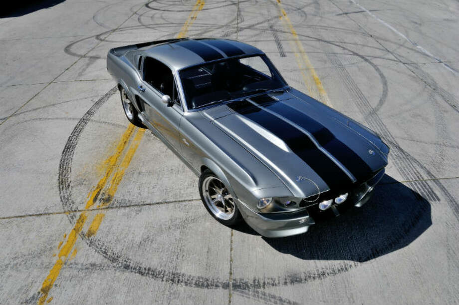 In May, movie buffs will have a chance to buy the modified 1967 Mustang used in the movie 'Gone in 60 Seconds.' The car was affectionately called Eleanor in the 2000 movie. Photo: David Newhardt, Courtesy Of Mecum Auctions