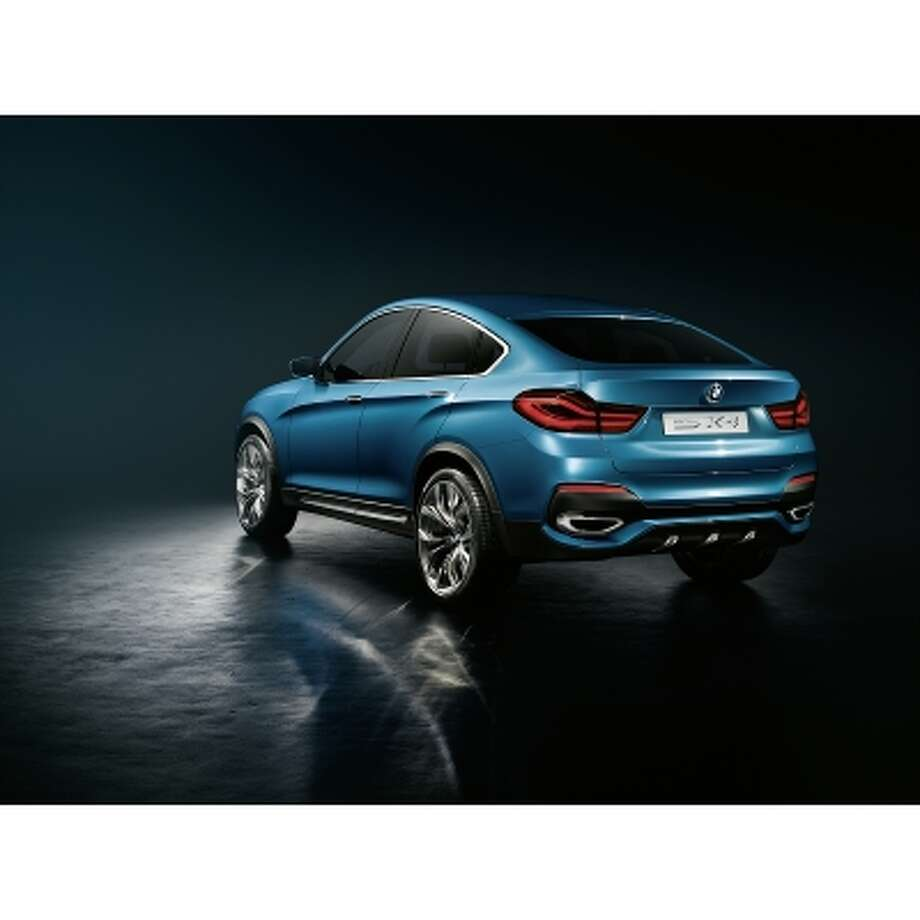 BMW X4 Concept car. Photo: BMW