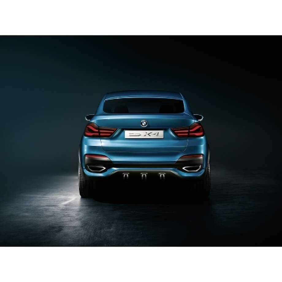BMW X4 Concept car. Photo: BMW