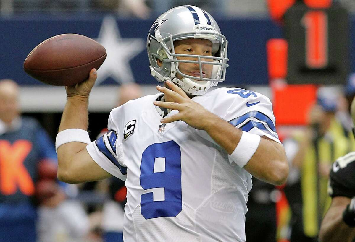 Tony Romo (2012) 425-648 (65.6 percent), 4,903 yards, 28 TDs, 19 INTs This was probably Romo's worst season in which he started at least half of his team's games. The Cowboys went 8-8 this year, but Romo still wasn't bad. The 4,903 yards and 28 touchdowns would both be franchise records. Granted, so would the 19 interceptions, but his 67.8 QBR this season would be better than every Texans quarterback except Matt Schaub's three best seasons.