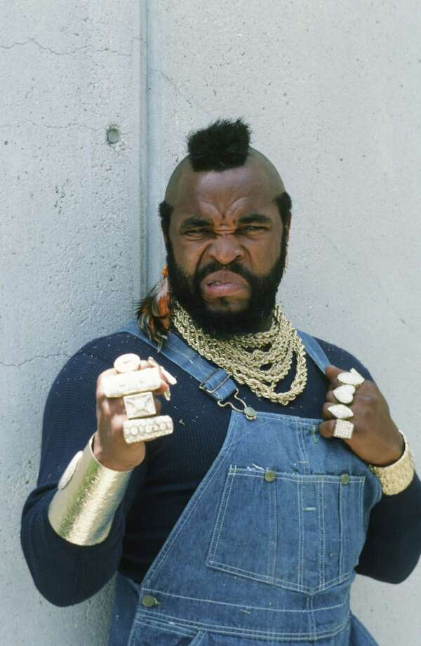 Mr. T as B.A. Baracus famously wore overalls. Photo: NBC, Getty Images / © NBC Universal, Inc.