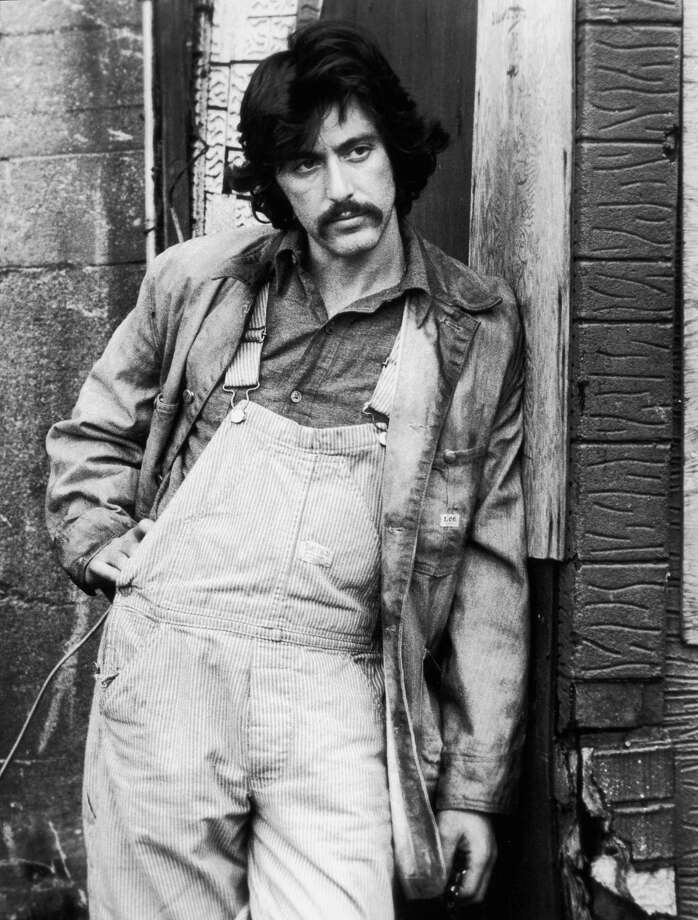"Al Pacino in a still from ""Serpico,"" makes overalls look bad-ass. Photo: Paramount Pictures, Getty Images / Moviepix"