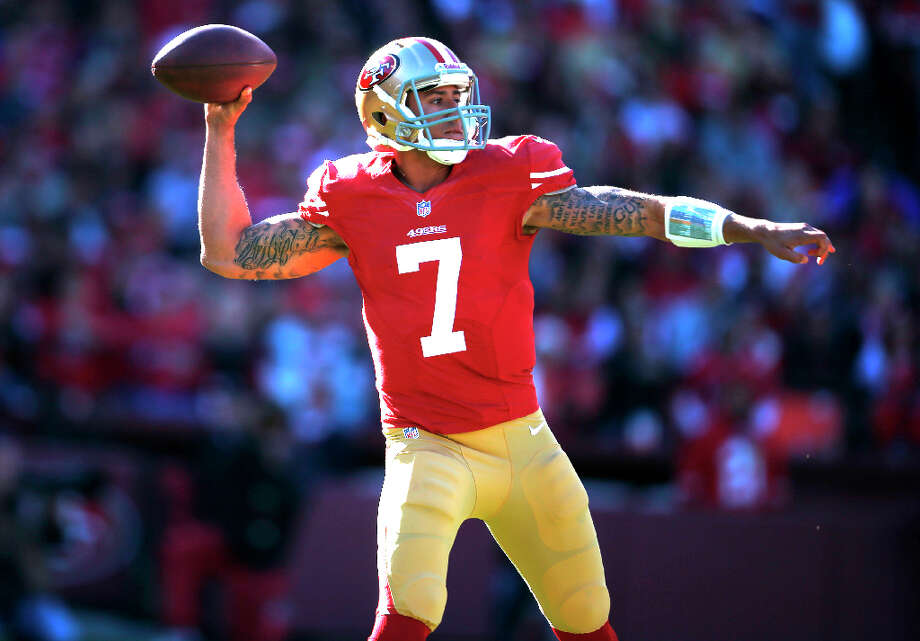 49ers Quarterback Colin Kaepernick Photo: Stephen Lam, Special To The Chronicle / ONLINE_YES
