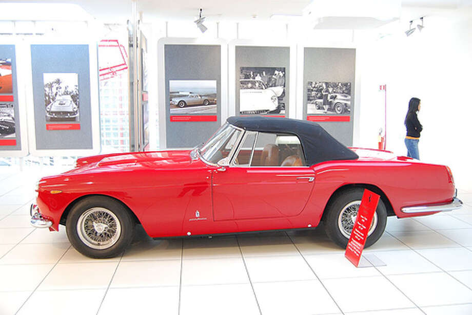 Ferrari 250GT California from Ferris Bueller's Day Off: $122,000