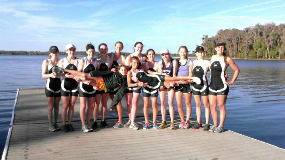 The Convent of the Sacred Heart crew team is ready for the upcoming season after a spring training trip to Orlando, Florida. Photo: Contributed Photo