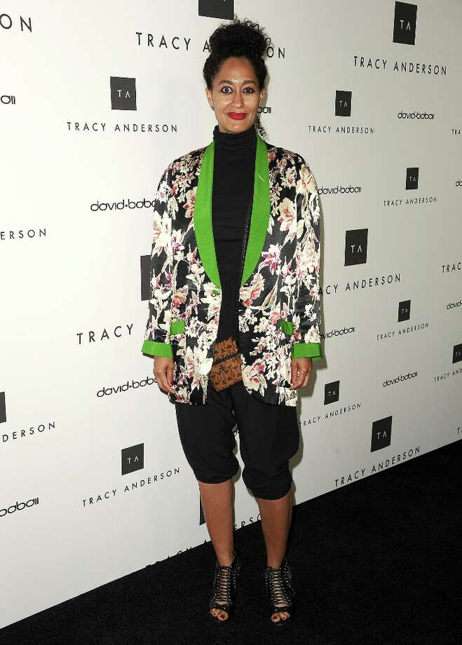 Actress Tracee Ellis Ross attends the opening of Tracy Anderson Flagship Studio on April 4, 2013 in Brentwood, California. Photo: Jason LaVeris, FilmMagic / 2013 Jason LaVeris