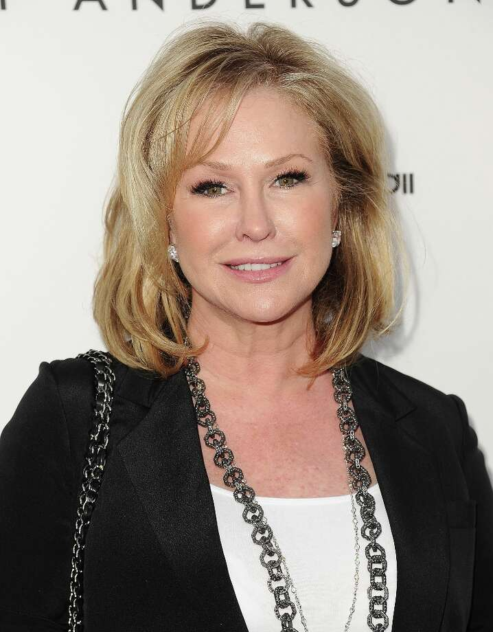 Kathy Hilton attends the opening of Tracy Anderson Flagship Studio on April 4, 2013 in Brentwood, California. Photo: Jason LaVeris, FilmMagic / 2013 Jason LaVeris