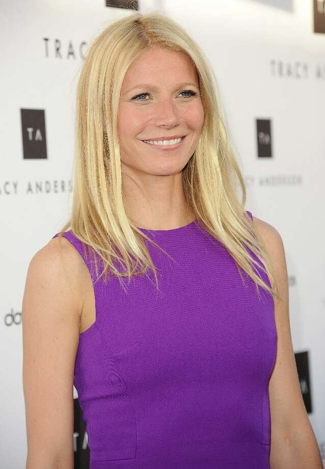 Actress Gwyneth Paltrow attends the opening of Tracy Anderson Flagship Studio on April 4, 2013 in Brentwood, California. Photo: Jason LaVeris, FilmMagic / 2013 Jason LaVeris