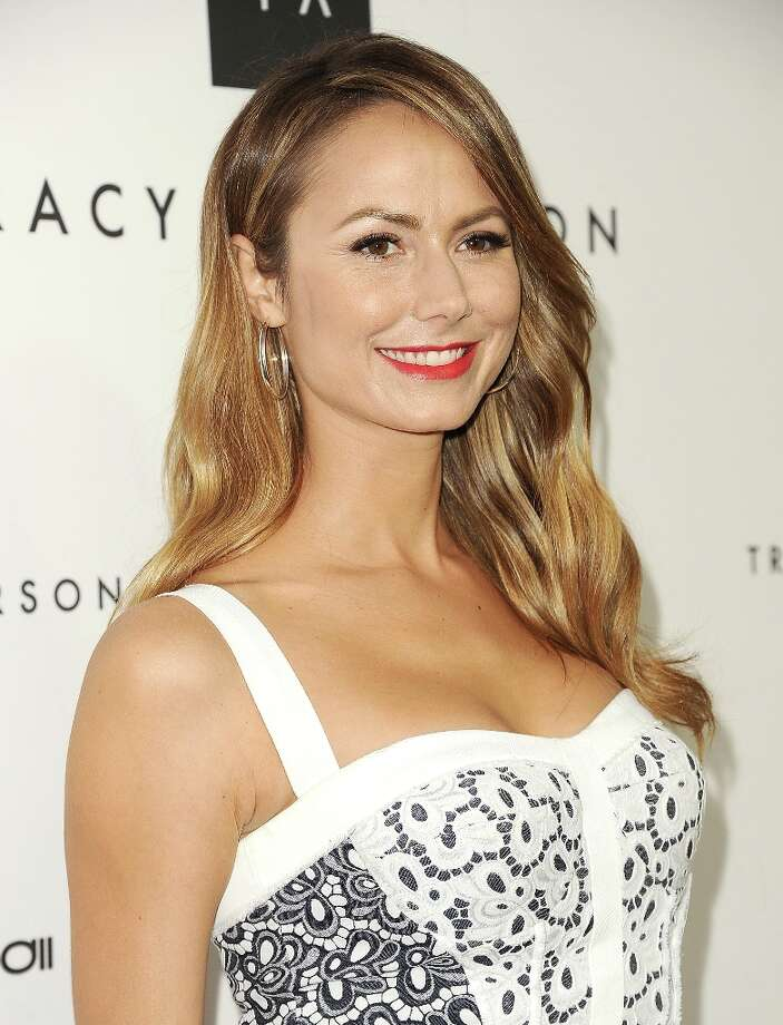 Stacy Keibler attends the opening of Tracy Anderson Flagship Studio on April 4, 2013 in Brentwood, California. Photo: Jason LaVeris, FilmMagic / 2013 Jason LaVeris