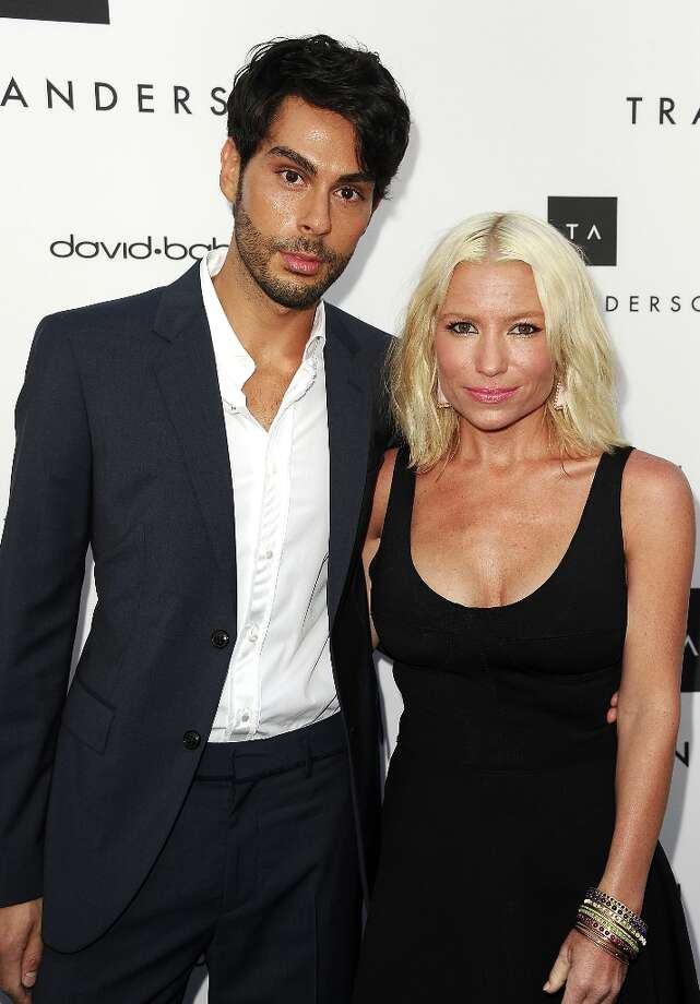 Joey Maalouf and Tracy Anderson attend the opening of Tracy Anderson Flagship Studio on April 4, 2013 in Brentwood, California. Photo: Jason LaVeris, FilmMagic / 2013 Jason LaVeris